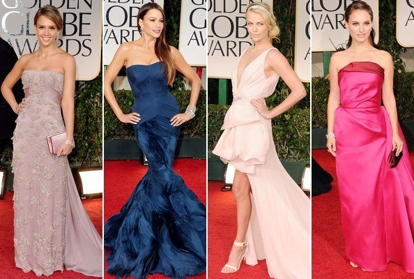 The Best and Worst Dressed at the 2012 Golden Globes