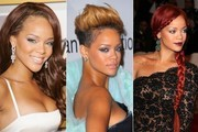 Rihanna's Hair Transformation