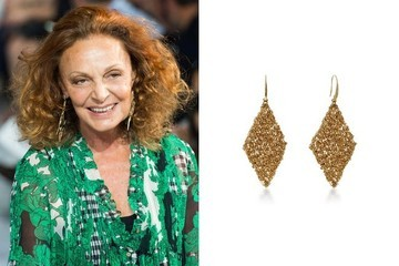 Diane von Furstenberg Makes Costume Jewelry Now