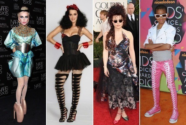 The Wackiest Celebrity Footwear
