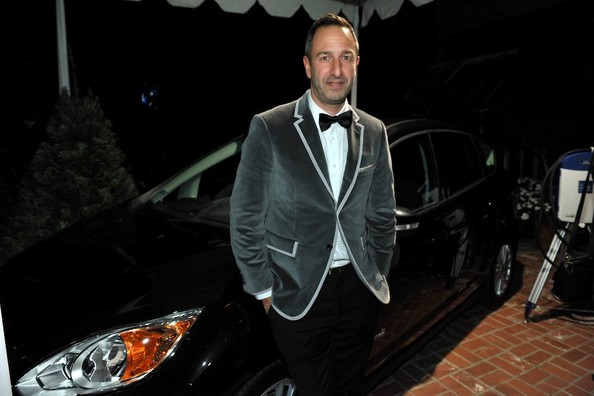 Decades' Christos Garkinos at the Stella McCartney LA Holiday Party