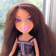 She looks like my kid sister's Bratz doll...
