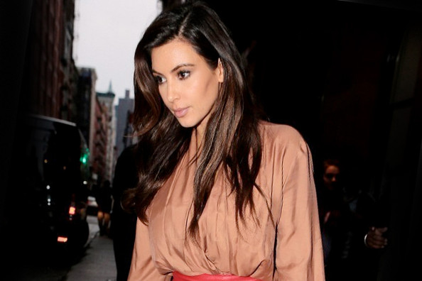 Kim Kardashian's Leather Overload—Do You Like it? Vote Here!