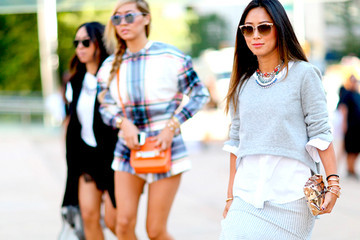 Best Street Style from New York Fashion Week Spring 2015