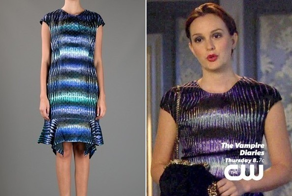 Leighton Meester's Fishtail Dress on 'Gossip Girl'