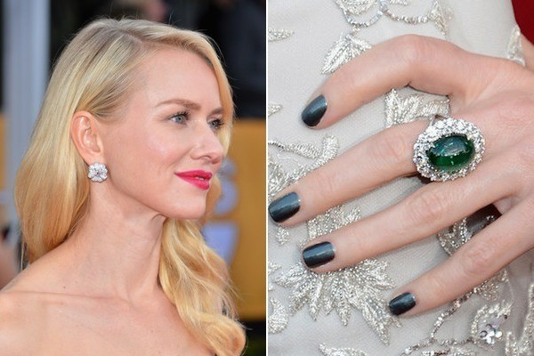 Naomi Watts' Forest Green Polish