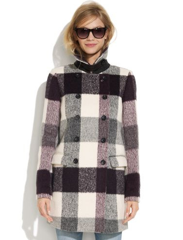 Madewell's Buffalo Plaid Coat