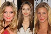 Celebs Brighten up in Orange Lipstick
