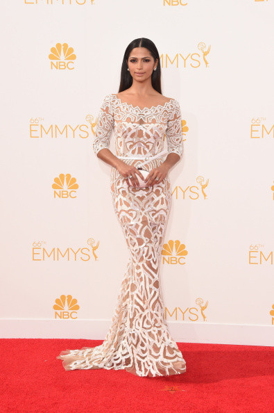 Camila Alves in Zuhair Murad, 2014
