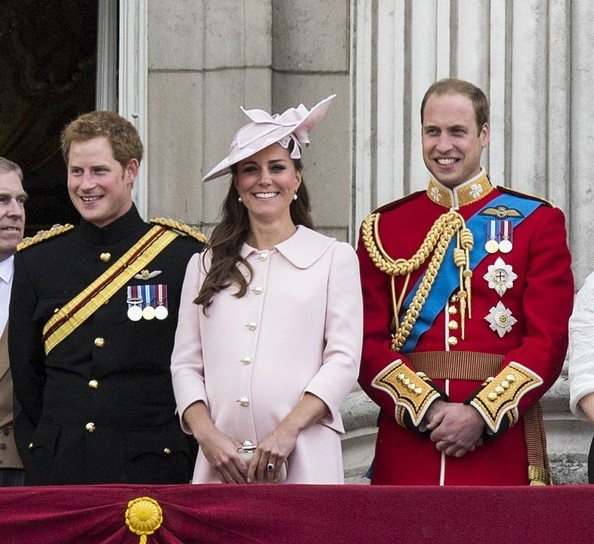 Kate Middleton Makes Her Last Pre-Baby Public Appearance in Pale Pink