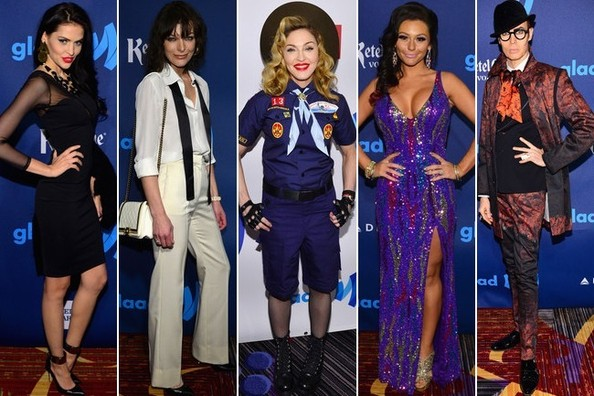 Best Dressed at the 24th Annual GLAAD Awards 2013
