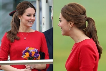 Hair Envy: Kate Middleton's Regal Ponytail