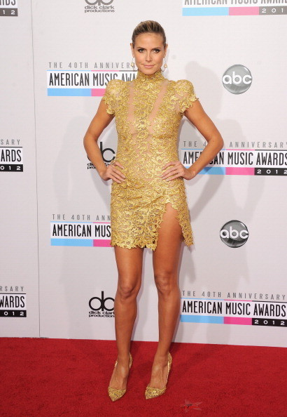 Heidi Klum at the 2012 AMAs