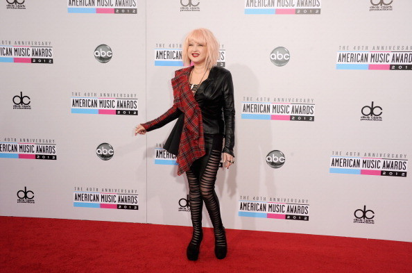Cyndi Lauper at the 2012 AMAs