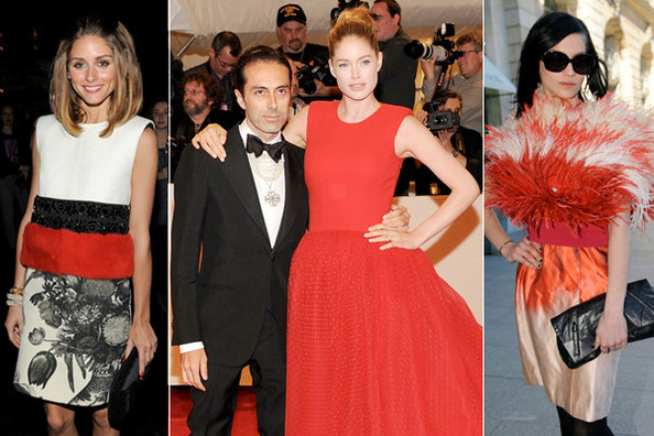 Hollywood Valli Girls - Celebs Adore Giambattista Valli