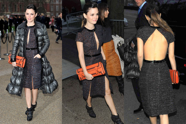 44b36864b4af Look of the Day  Rachel Bilson in Burberry Prorsum - Look of the Day ...