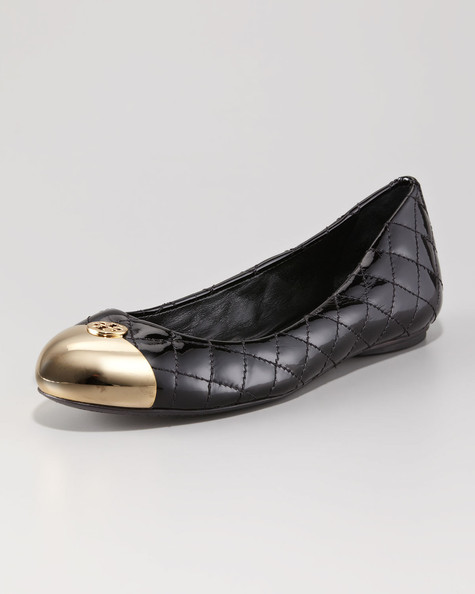 Tory Burch Quilted Ballerinas