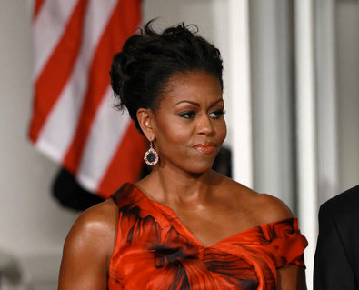 Oscar de la Renta Did Not Approve of Mrs. Obama's Alexander McQueen Gown