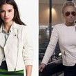 Hayden Panettiere's White Motorcycle Jacket on 'Nashville'