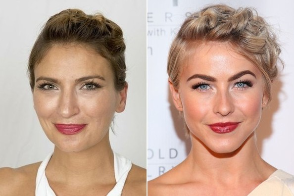 Master Julianne Hough's Twisted Pixie Updo