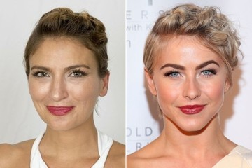 Summer Beauty How To: Julianne Hough's Short Hair Updo