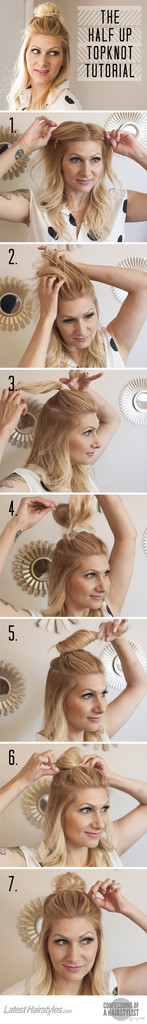 DIY Hollywood's Favorite Casual Top Knot