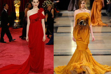 Anne Hathaway Oscars Dress Prediction