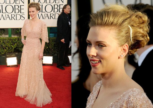 Scarlett Johansson's Oscars Dress Is a Last-Minute Pick