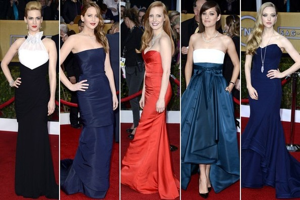 The 2013 SAG Awards - All The Best-Dressed Stars