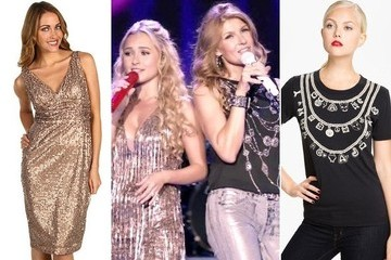 Hayden Panettiere and Connie Britton's Stage Outfits