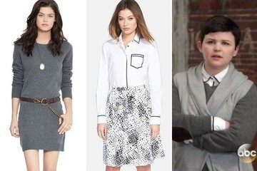 Shop the Fashions Seen Last Night on 'Once Upon a Time' and 'Revenge'