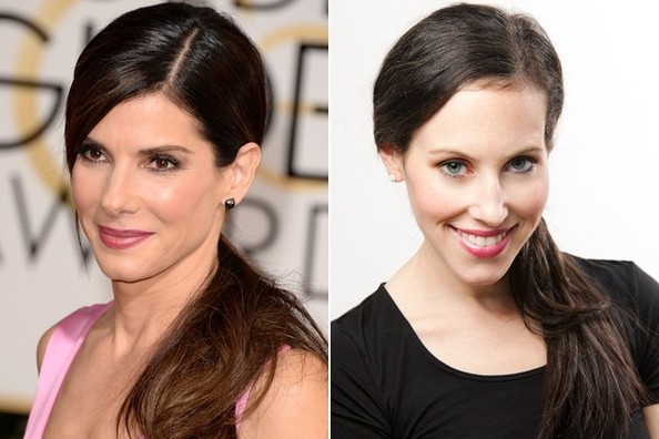 Get the Look: Sandra Bullock's Lengthy Side Pony