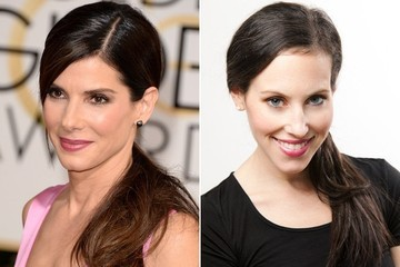 Get the Red Carpet Hair Look: Sandra Bullock
