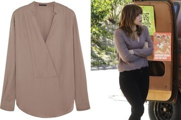 Buy These Basic Blouses Worn Last Night on 'Scorpion' and '2 Broke Girls'