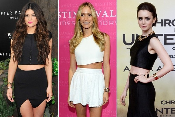 You Voted: The 15 Cutest Celebrity Crop-Tops of Summer