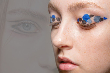 The Best Beauty Looks at London Fashion Week Fall 2015