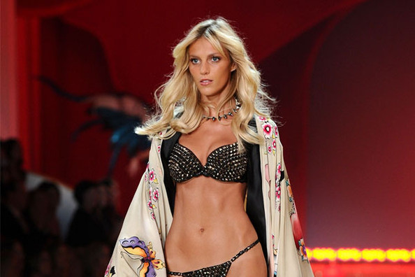 Anja Rubik Commissions a Pucci Wedding Dress
