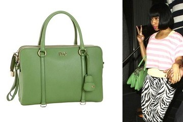 Apple Picking: Nicki Minaj's D&G Satchel