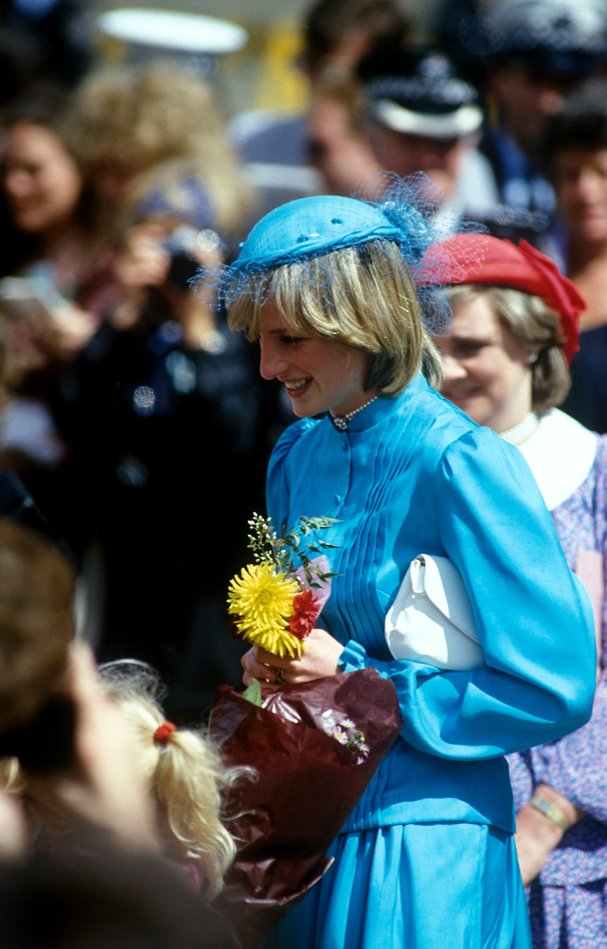 The First Royal Tour Diana Comparing Princess Diana And