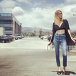 Whitney Port Pulls Off Boyfriend Jeans