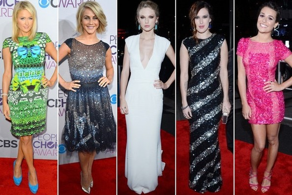 Best & Worst Dressed at the People's Choice Awards 2013