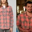 Jake Johnson's Orange and Grey Plaid Button-Down on 'New Girl'