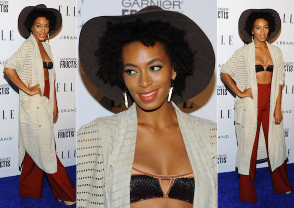 Hot or Not: Solange Knowles' Eclectic '70s Ensemble