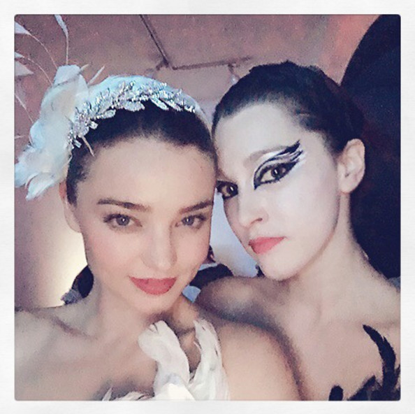 Miranda Kerr as the White Swan