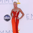Nancy O'Dell in Pageant Red