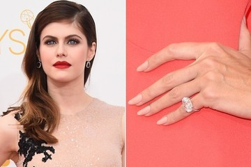 Trending for Lips and Tips at the 2014 Emmys: Reds and Nudes
