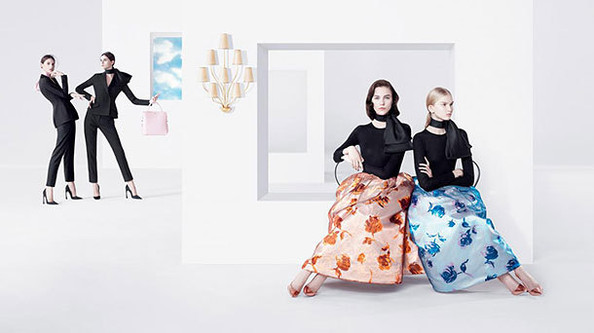 BEHOLD: Raf Simons' First Dior Ads Are Slightly Surreal