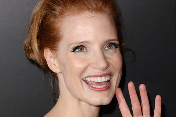 Jessica Chastain Brings the Tropics to Cocktail Wear