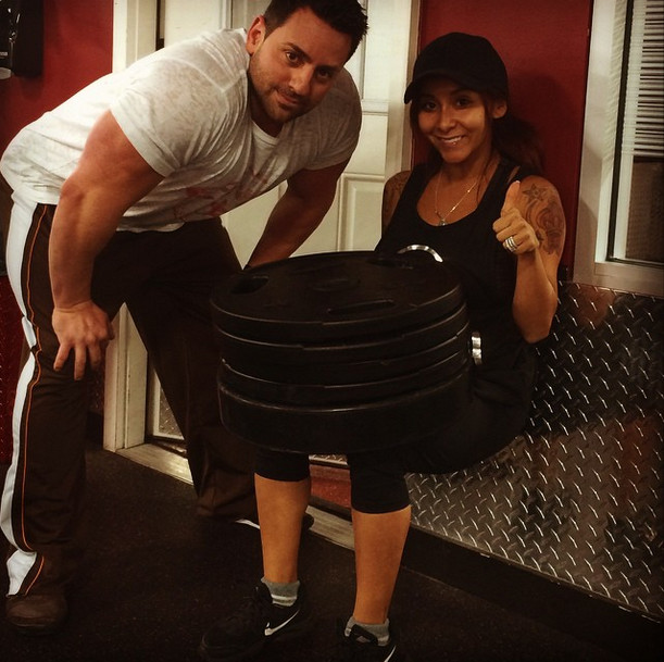 Snooki Has Turned Into a Major Fitness Inspiration