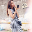 Ashley Madekwe Rocks All Over Gingham